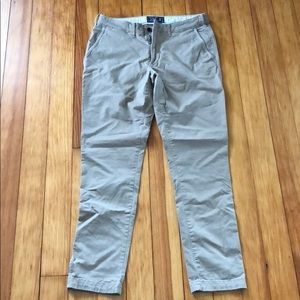 Men's Abercrombie athletic fit chinos